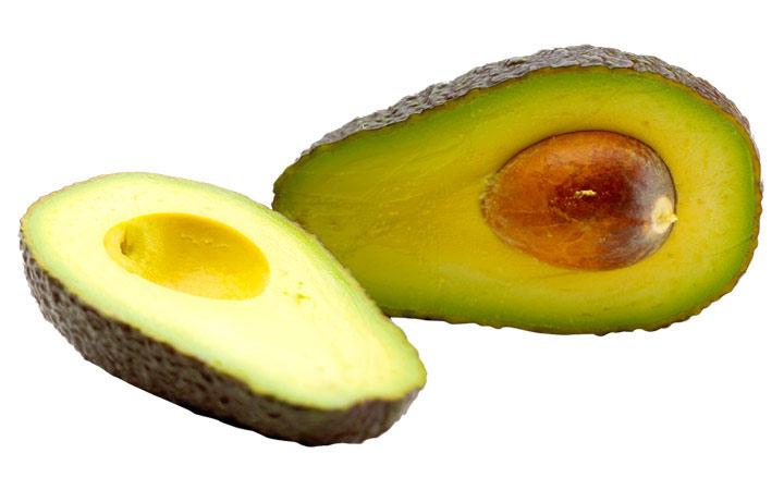 Авокадо при секущихся волосах