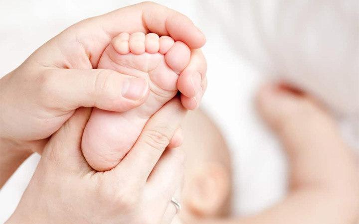 Детский массаж стоп