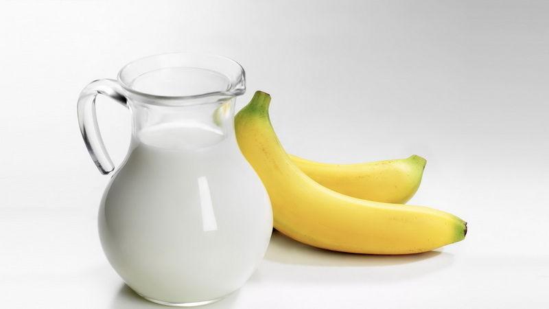 Банановая диета на молоке